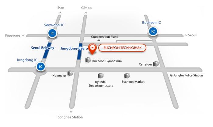RoadView map